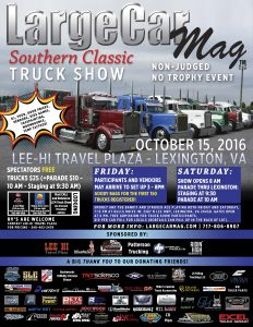 2016 LCM southern classic flyer low