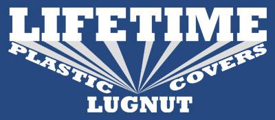 Lifetime Lugnut Plastic Covers